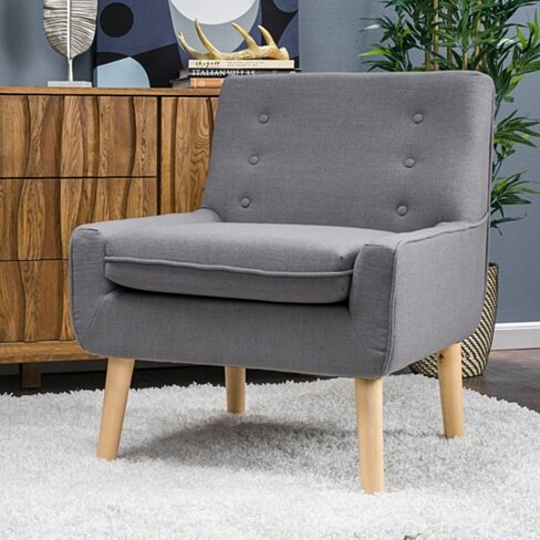 Brockston Mid Century Modern Accent Chair