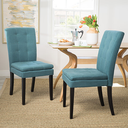 Buy Butterfield Lucid Design Inspired Fabric Dining Chair