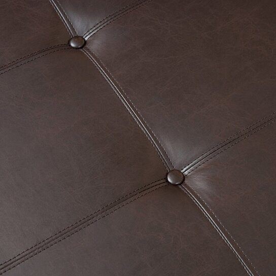 Buy Codi Contemporary Button Tufted Bonded Leather Storage