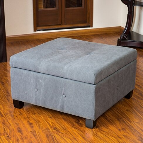 Buy Codi Grey Fabric Storage Ottoman Coffee Table By Great Deal Furniture On Opensky