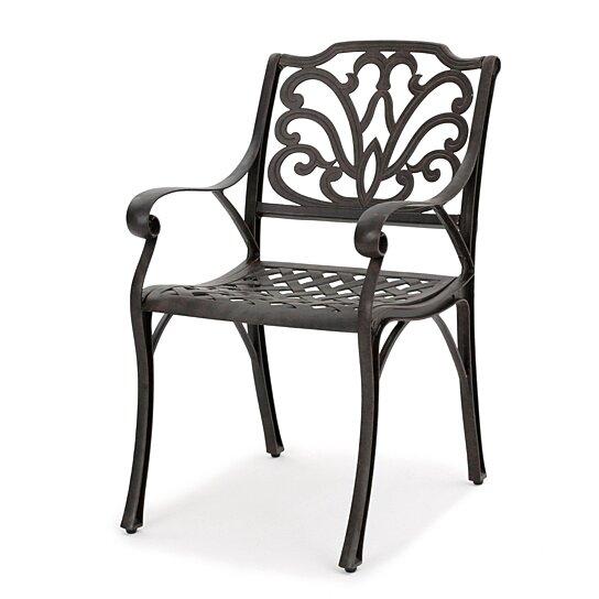 Buy Fonzo Outdoor Bronze Cast Aluminum Dining Chairs (Set