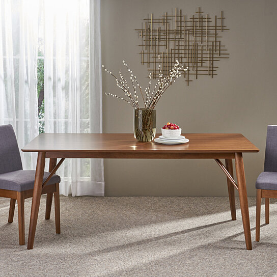 Joey Wooden Six Seater Dining Table