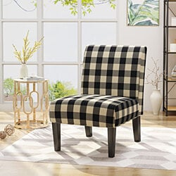 Kendal Traditional Upholstered Farmhouse Accent Chair