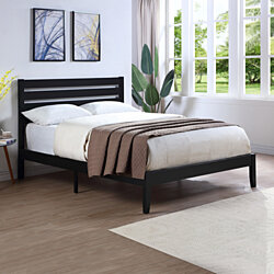 Kenley Queen Size Bed with Headboard