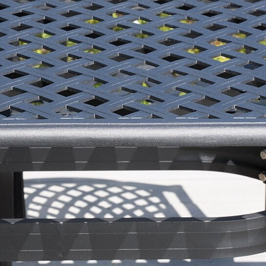 Patio Furniture Marietta Ga: Buy Marietta Outdoor 7-piece Cast Aluminum Black Sand