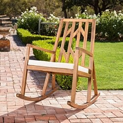 Monterey Outdoor Rocking Chair w/ Cushion
