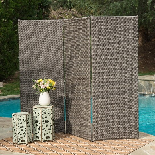 Buy osage outdoor wicker privacy screen by gdfstudio on for Buy outdoor privacy screen