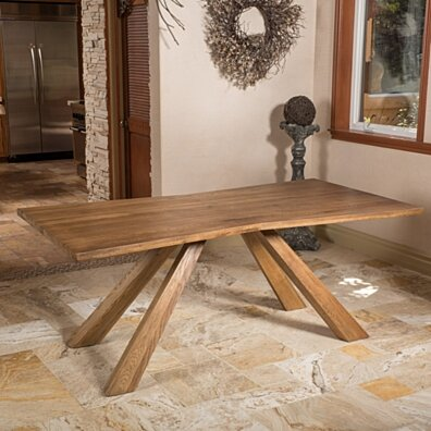 Perry Oak Wood Dining Table