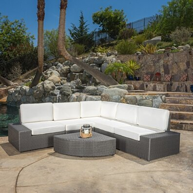 Reddington Outdoor 6pcs Sofa Sectional Set