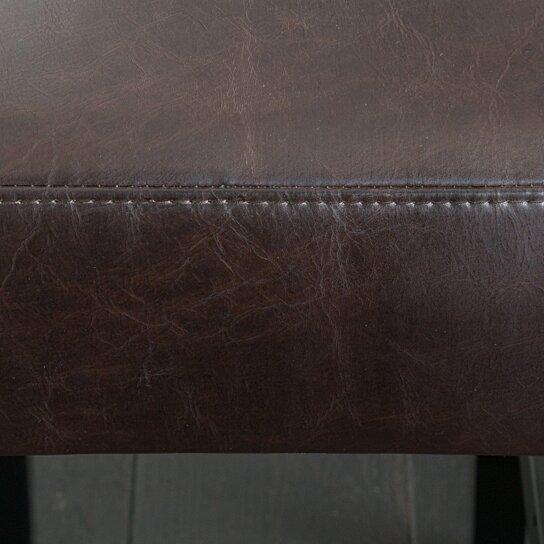 Buy Adler 30 Inch Brown Leather Backless Bar Stool Set Of