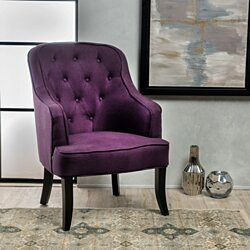 Sophia Contour Accent Chair