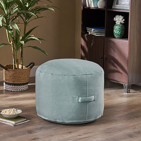 Tammy Indoor Water Resistant 2' Ottoman Pouf
