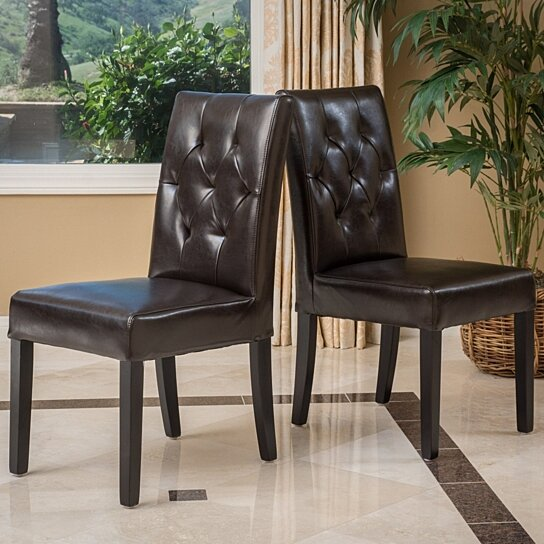 Buy Waldon Tufted Dining Chairs Set Of 2 By Gdfstudio On Dot Bo