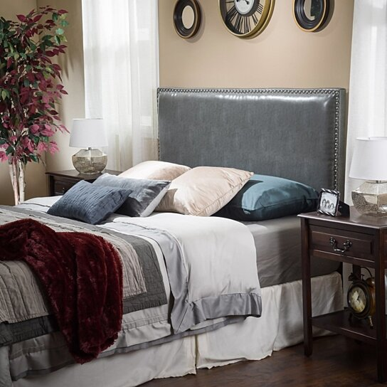 Buy Westin King To Cal King Adjustable Leather Headboard By Great Deal
