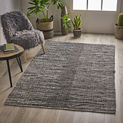 Yilia Boho Fabric Area Rug