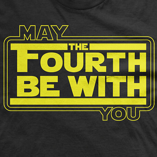 May The 4th Be With You Merchandise: Buy May The Fourth Be With You Tee May 4th Shirt Fandom T