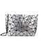 Women Geometric Purse PU Leather Chain Crossbody Purse Bags