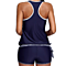 Women Two Pieces Swimwear Striped Tankini and Short Set Swimsuit