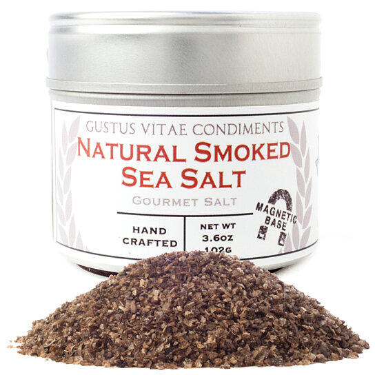 Buy Natural Smoked Sea Salt by Gustus Vitae Sea Salts & Spice on ...