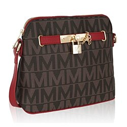 MKF Collection Gena M Signature Crossbody Bag by Mia K Farrow