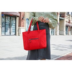 MKF Collection Rena Quilted Tote Bag by Mia K. Farrow