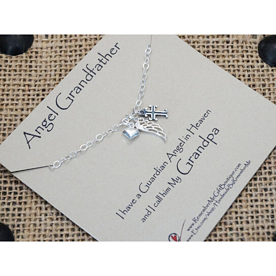 Buy Angel Grandfather Loss Of Grandfather Memorial Gift