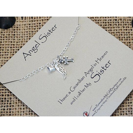 Buy Angel Sister Loss Of Sister Memorial Gift Sympathy