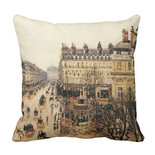 Buy Architecture Place Du Theatre Francais Paris Rain By Raining Pillowcase Cover 16x16 Inch By Harriet Queena Queena On Dot Bo