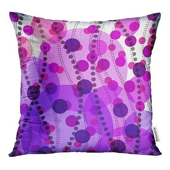 Buy Purple Pattern Abstract Pink Dot Beautiful Black ...