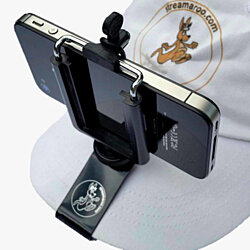 Smartphone / iPhone Removable Hat Mount