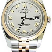 Jubilee bracelet solid gold & steel Rolex datejust watch oyster