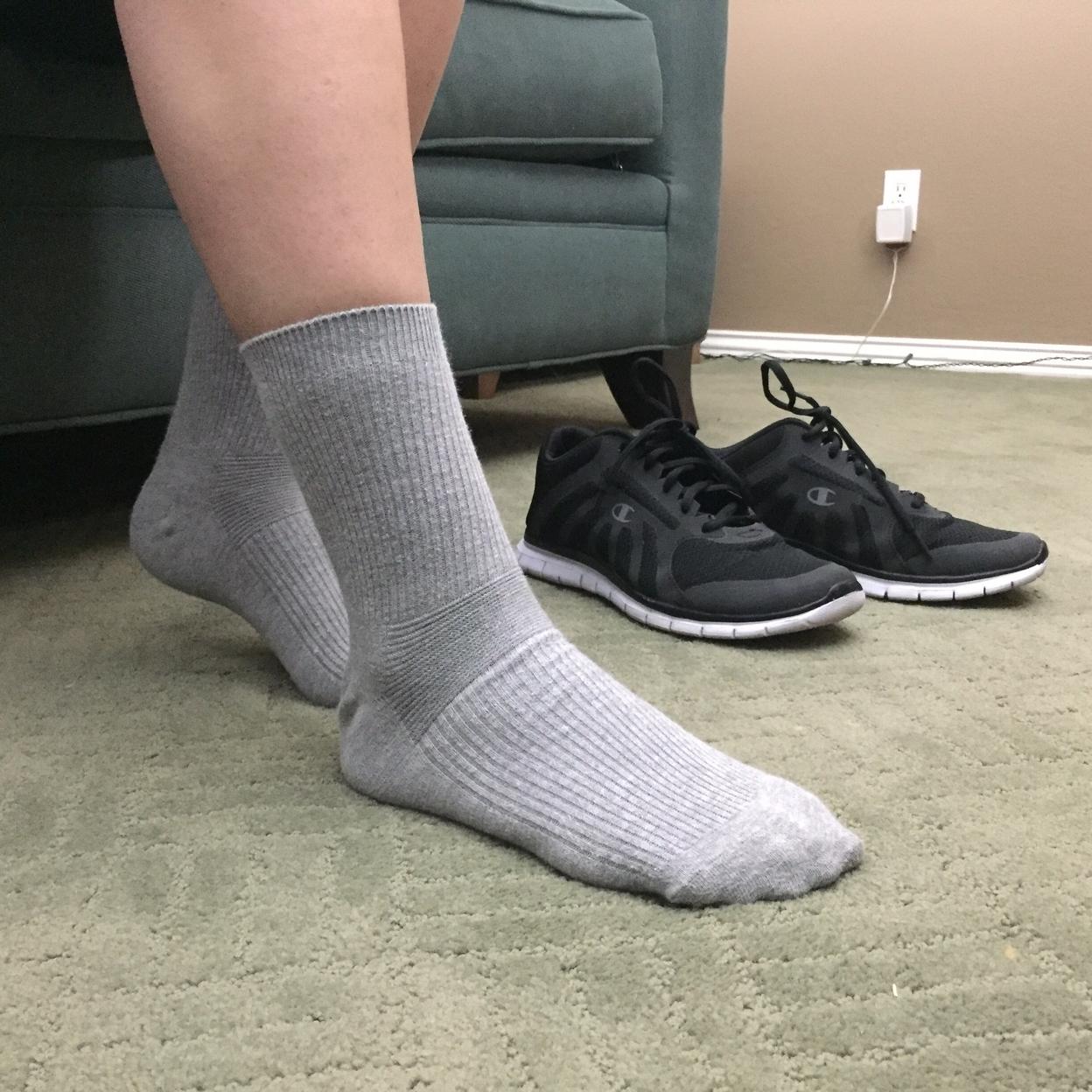 Natural Relief Socks (Grey) - Single 54d28a2e4b3d6f79778b4b2c