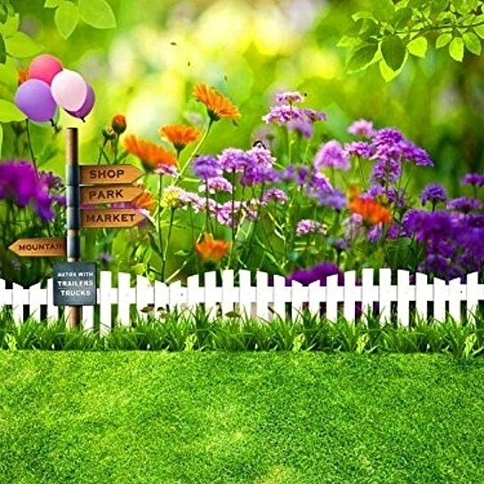 buy white wood fence flowers garden backdrop for photography 5x7ft photo background studio props by hedda stan on opensky white wood fence flowers garden backdrop for photography 5x7ft photo background studio props