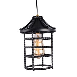 Black dock industrial pendant lamp edison pendant light