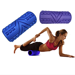 Deep Tissue Massage Foam Roller Trigger Therapy - Assorted Colors