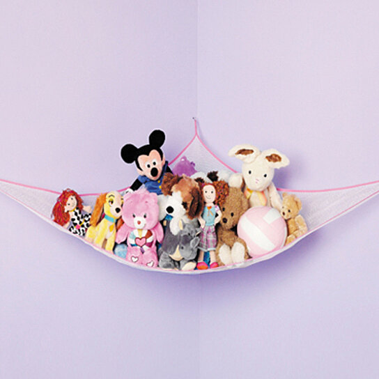 Buy hanging toy storage net by hold n storage on opensky for Hanging toy net