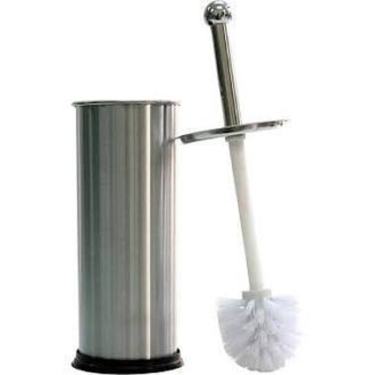 buy stainless steel toilet brush with holder by hold n storage on opensky. Black Bedroom Furniture Sets. Home Design Ideas