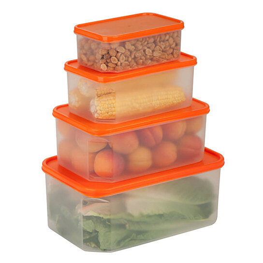 Buy 4 piece locking food container set by honey can do on for Decor 6l container
