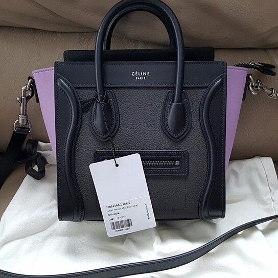 16f80fa4f97e Trending product! This item has been added to cart 11 times in the last 24  hours. NWT CELINE NANO LUGGAGE ...