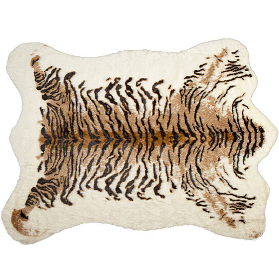 Buy FAUX COWHIDE RUG/THROW 5.25'X7.5' TIGER By Lifestyle