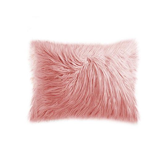 Buy Frisco Mongolian Sheepskin Faux Fur Pillow 12 Quot X 20