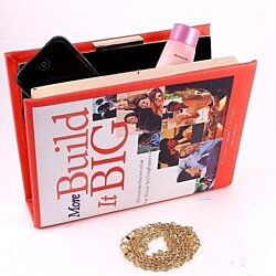 Build it Big Book Cover Clutch