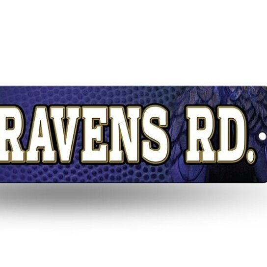 Man Cave Store Baltimore : Buy baltimore ravens street sign new quot x rd