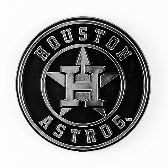 Relatively Buy Houston Astros Logo 3D Chrome Auto Decal Sticker NEW!! Truck  CA47