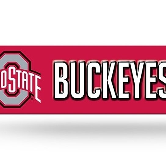 Ohio State Man Cave Signs : Buy ohio state buckeyes street sign new quot x