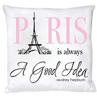 Buy Paris Is Always A Good Idea Pillow By Hudiefly On Opensky