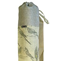"Yoga Mat Bag ""Parakeets"""