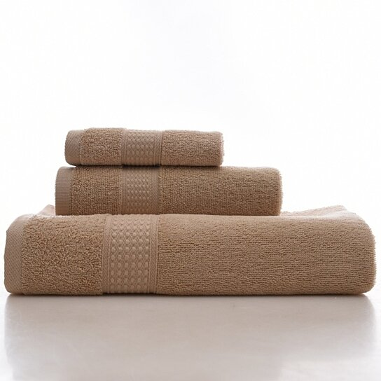 100% Cotton Towel Set  Lightweight High Absorbency Multipurpose Quick Drying  Towels