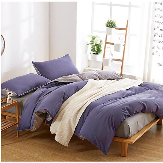 Duvet Cover 4pc Set-1500 Thread Count Egyptian Quality Ultra Silky Soft Top Quality Premium Bedding Collection