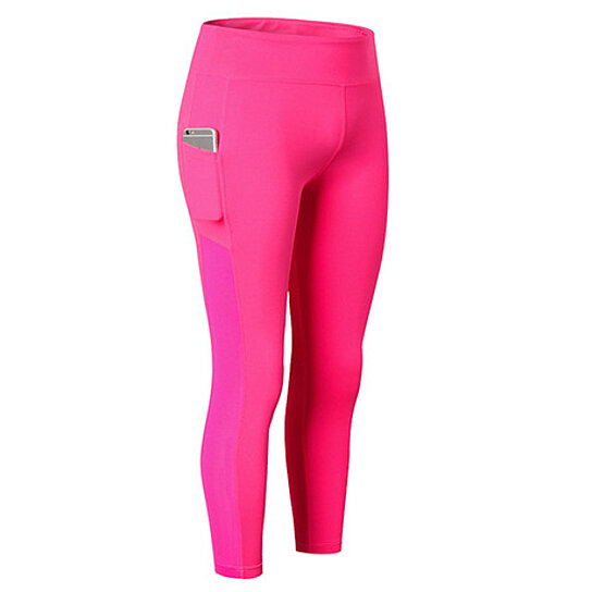 Women's Stretchable Side Pocket Yoga/Gym Leggings, Assorted Colors